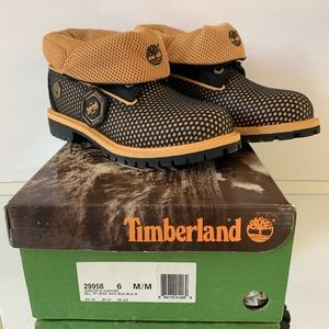 Timberland Roll Top Vent Tech boots w/ box Size 6M